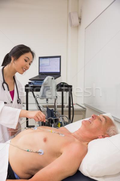 медик старший человека университета школы Сток-фото © wavebreak_media