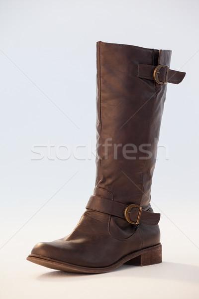 Boot witte paar natuur blad Stockfoto © wavebreak_media