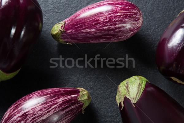Close-up of eggplants Stock photo © wavebreak_media