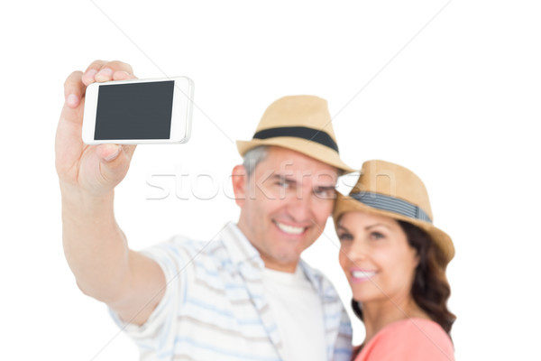Couple taking a selfie  Stock photo © wavebreak_media
