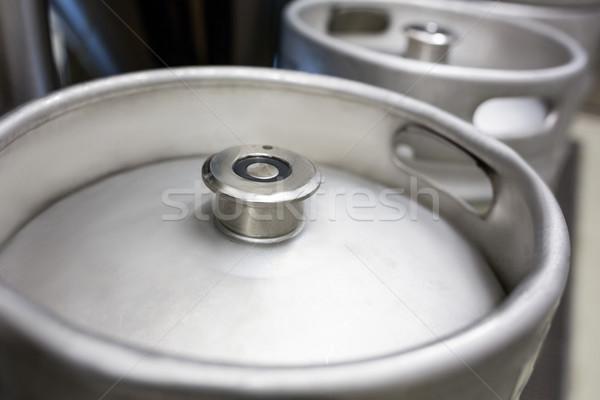Close-up of keg Stock photo © wavebreak_media