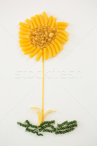 пасты цветок обеда отпуск обед жизни Сток-фото © wavebreak_media