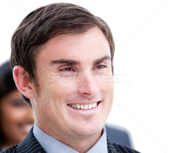 Portrait of a positive businessman Stock photo © wavebreak_media