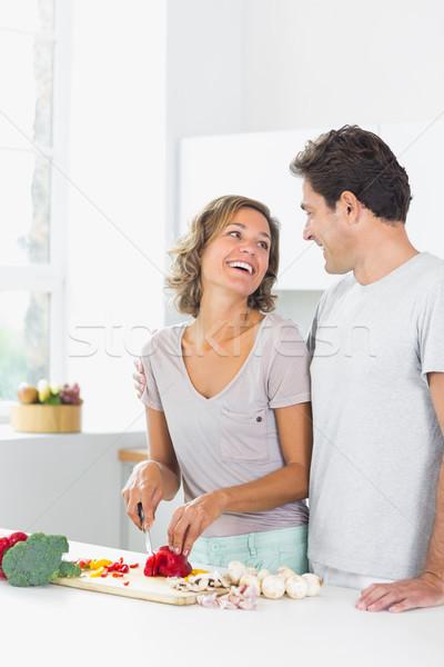 Férj feleség néz egyéb nő ház Stock fotó © wavebreak_media