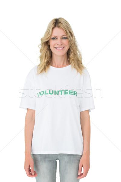 Portrait of a smiling young female volunteer Stock photo © wavebreak_media