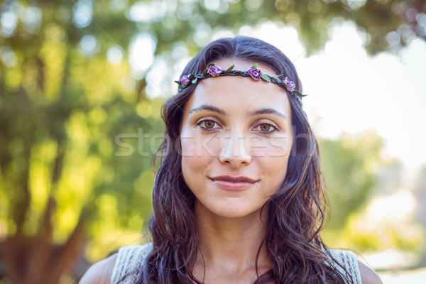 Pretty hipster looking at the camera Stock photo © wavebreak_media