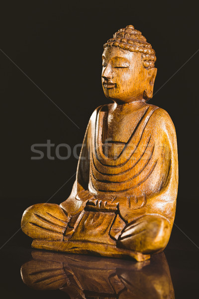 Wooden buddha statue  Stock photo © wavebreak_media
