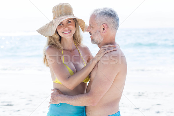 Happy couple hugging each other Stock photo © wavebreak_media