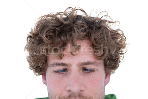 Casual man grimacing in front of camera Stock photo © wavebreak_media