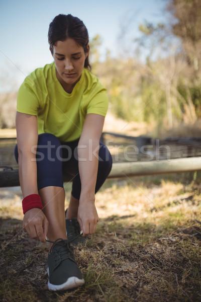 美人 着用 靴 トレーニング ブート ストックフォト © wavebreak_media