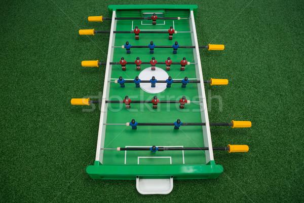 Table football jeu herbe artificielle herbe sport Photo stock © wavebreak_media
