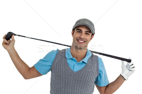 Portret golf klub biały Zdjęcia stock © wavebreak_media