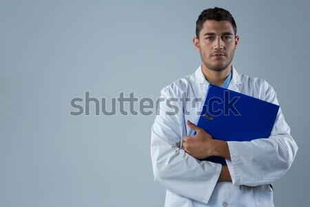 Football player standing with arms crossed Stock photo © wavebreak_media