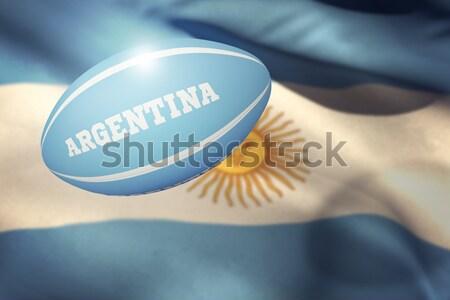 Composite image of argentina rugby ball Stock photo © wavebreak_media