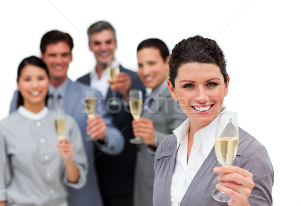 Sorridere business internazionale squadra uomo felice Foto d'archivio © wavebreak_media