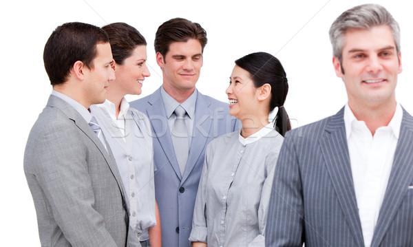 Business internazionale squadra business uomo femminile maschio Foto d'archivio © wavebreak_media