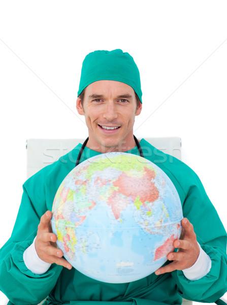 Médico globo branco mundo saúde Foto stock © wavebreak_media