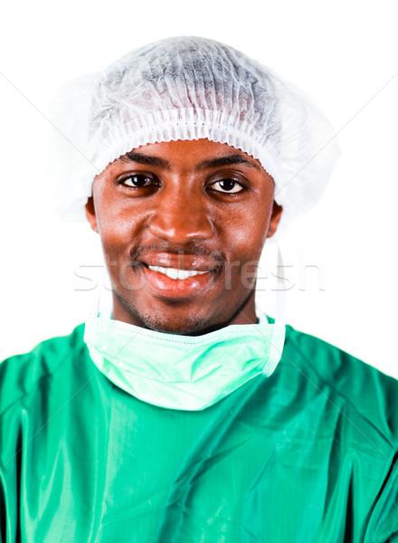 Senior Chirurg grünen isoliert Foto Stock foto © wavebreak_media