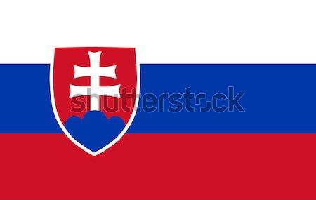 Bandeira fundos eleição governo Eslováquia fundo Foto stock © wavebreak_media