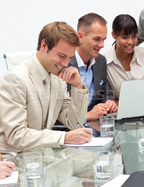International business people in a meeting Stock photo © wavebreak_media