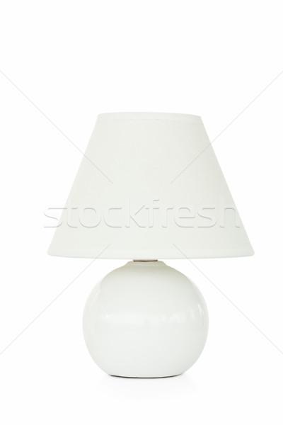 Közelkép fehér lámpa fény technológia üveg Stock fotó © wavebreak_media