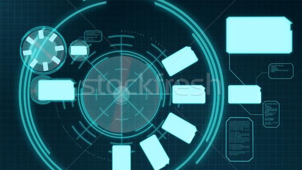 実例 バーチャル メニュー ビジネス インターネット 技術 ストックフォト © wavebreak_media