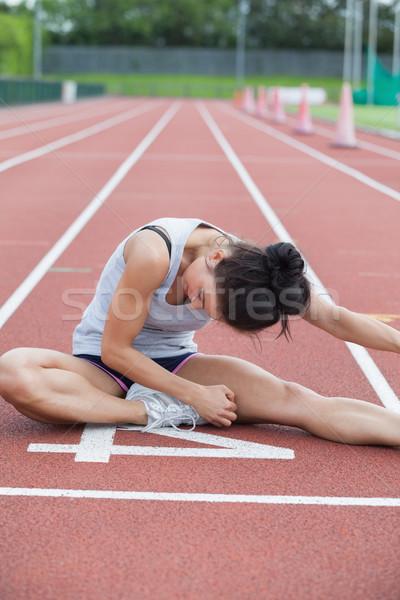 женщину ногу трек спорт тело Сток-фото © wavebreak_media