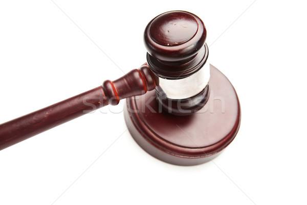 молоток белый прав судья Сток-фото © wavebreak_media