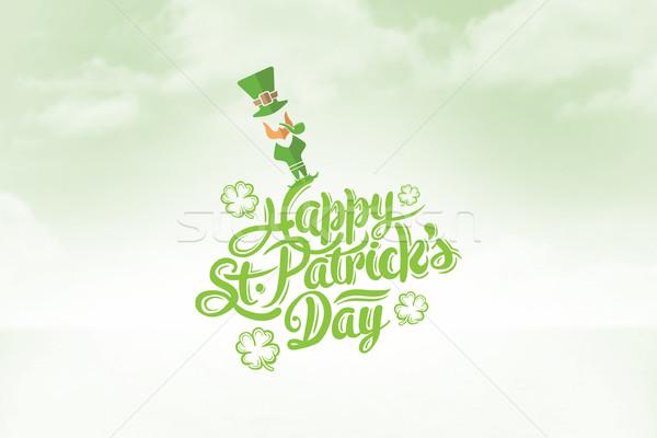 Composite image of patricks day greeting Stock photo © wavebreak_media