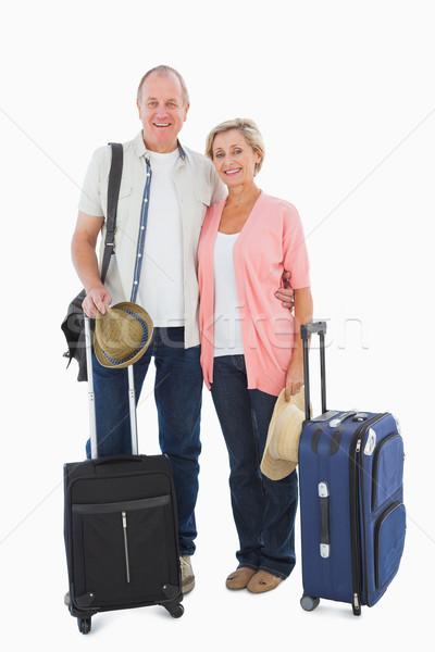 улыбаясь старший пару праздников белый путешествия Сток-фото © wavebreak_media