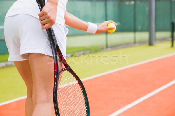 準備 スポーツ フィットネス ボール ストックフォト © wavebreak_media