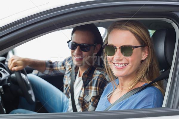 Couple on a road trip Stock photo © wavebreak_media