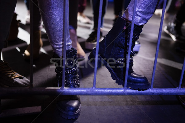 Low-section of spectator standing at a concert Stock photo © wavebreak_media