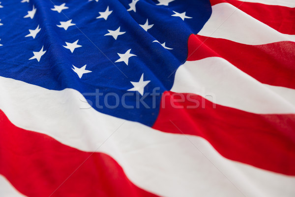 Close-up of an American flag Stock photo © wavebreak_media