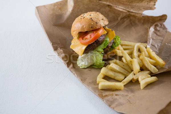 Hamburger papier Stockfoto © wavebreak_media