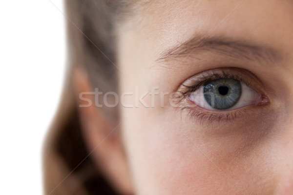Сток-фото: девочек · глаза · носа · белый · связи