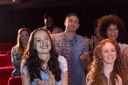 Arkadaşlar film tiyatro kadın film Stok fotoğraf © wavebreak_media