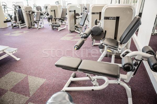 Palestra nessun popolo interni salute club esercizio Foto d'archivio © wavebreak_media