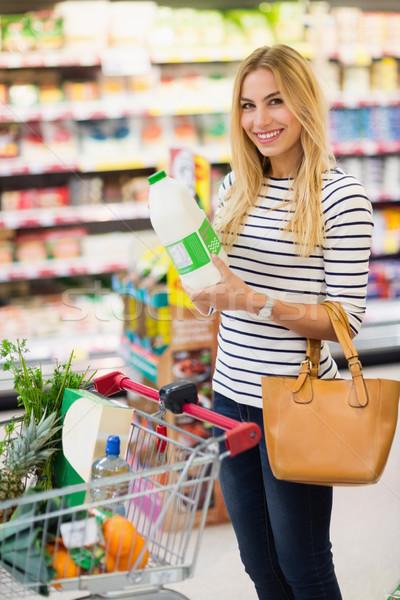 Customer in a supermarket Stock photo © wavebreak_media