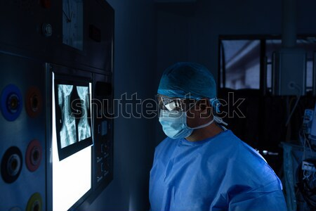 Unconcious patient in operation theater Stock photo © wavebreak_media