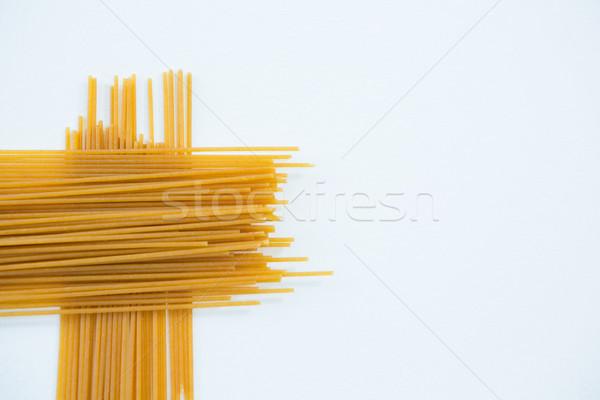 спагетти пасты белый образование шаблон обучения Сток-фото © wavebreak_media