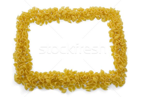 Ruw pasta witte voedsel zorg lifestyle Stockfoto © wavebreak_media