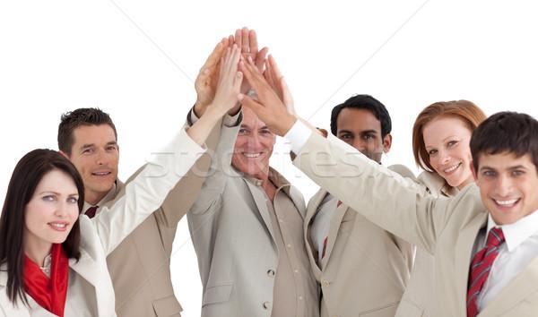 деловые люди стороны аннотация толпа Сток-фото © wavebreak_media