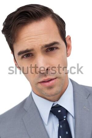 Portret poważny biznesmen działalności przestrzeni wykonawczej Zdjęcia stock © wavebreak_media