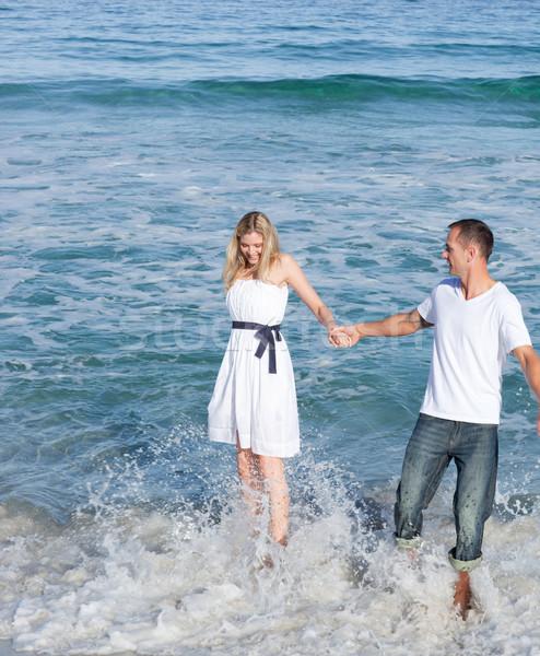 Intymny para wraz kobieta Zdjęcia stock © wavebreak_media