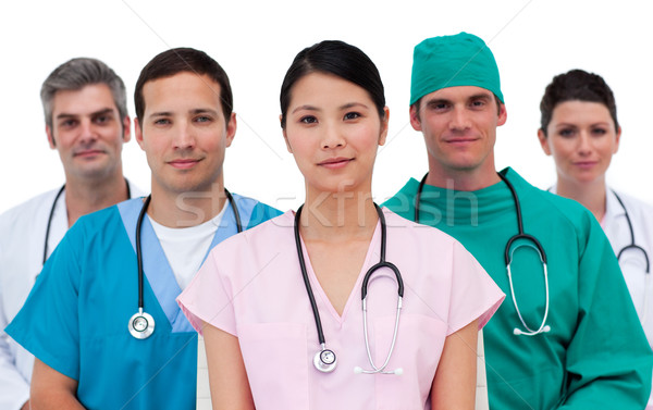 Portrait of an assertive medical team Stock photo © wavebreak_media