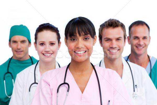 Portrait of a assertive medical team Stock photo © wavebreak_media