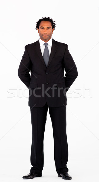 Young businessman looking at the camera Stock photo © wavebreak_media