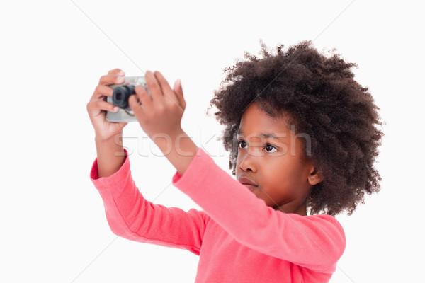 かわいい 少女 画像 白 子 ストックフォト © wavebreak_media