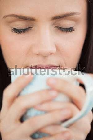 сигарету белый курение женщины Сток-фото © wavebreak_media